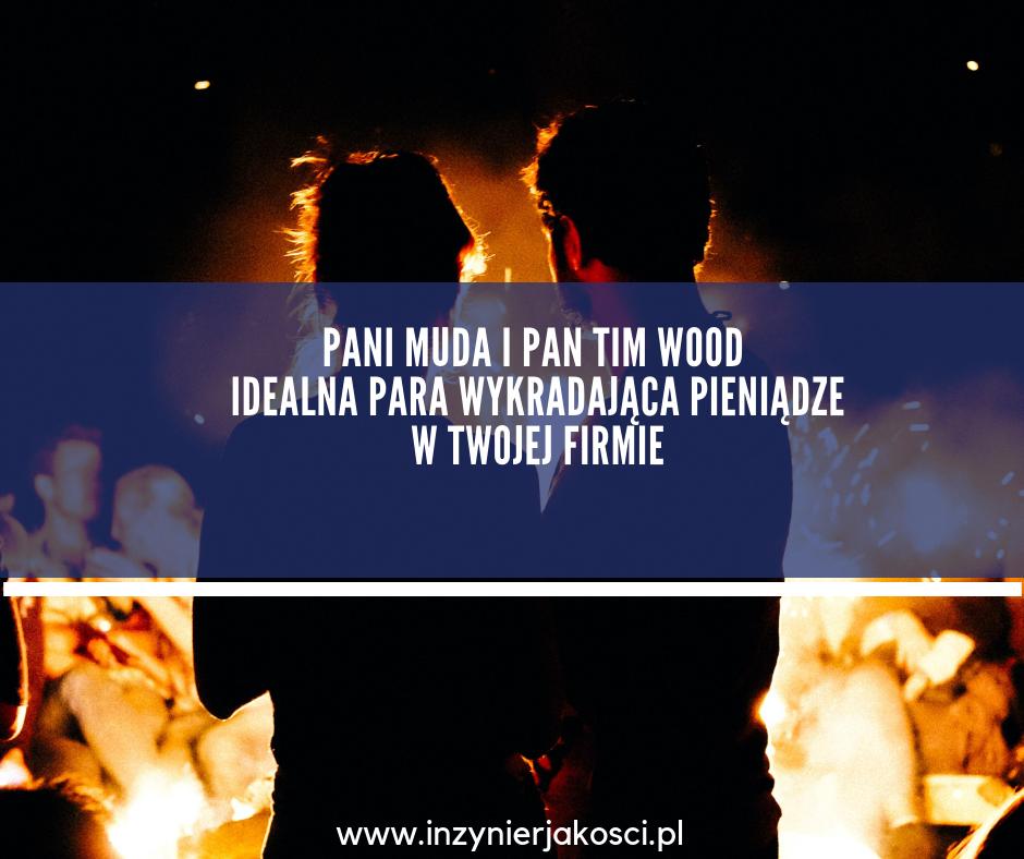 muda tim wood