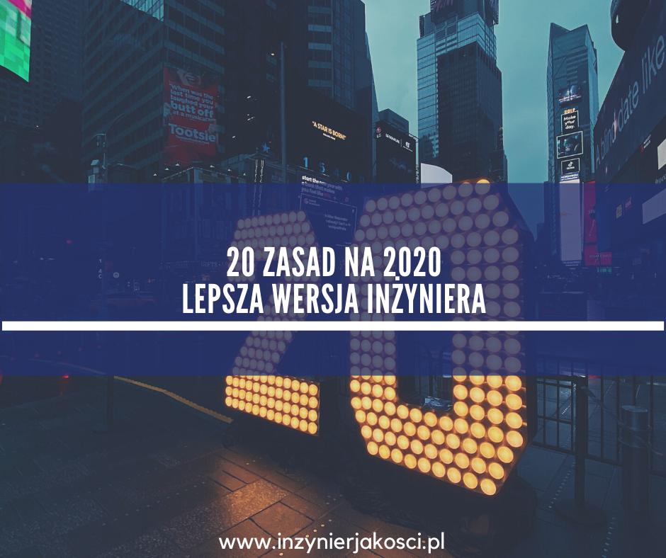 20 zasad Artur Mydlarz