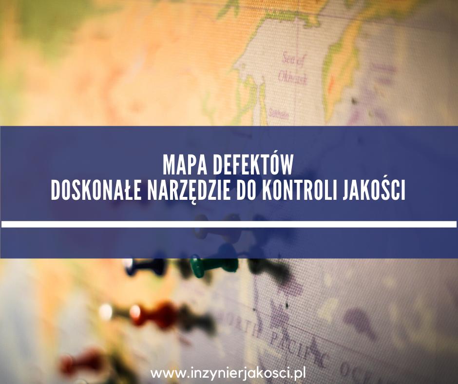 mapa defektów