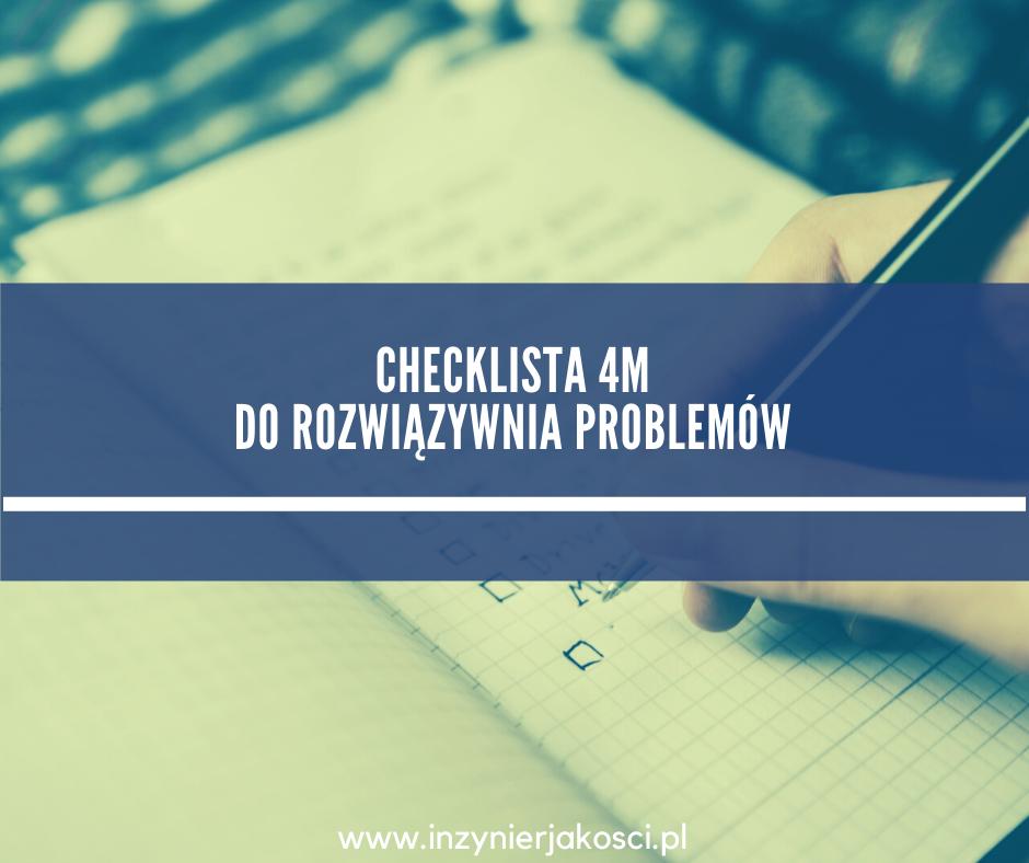 4m checklista do problemów